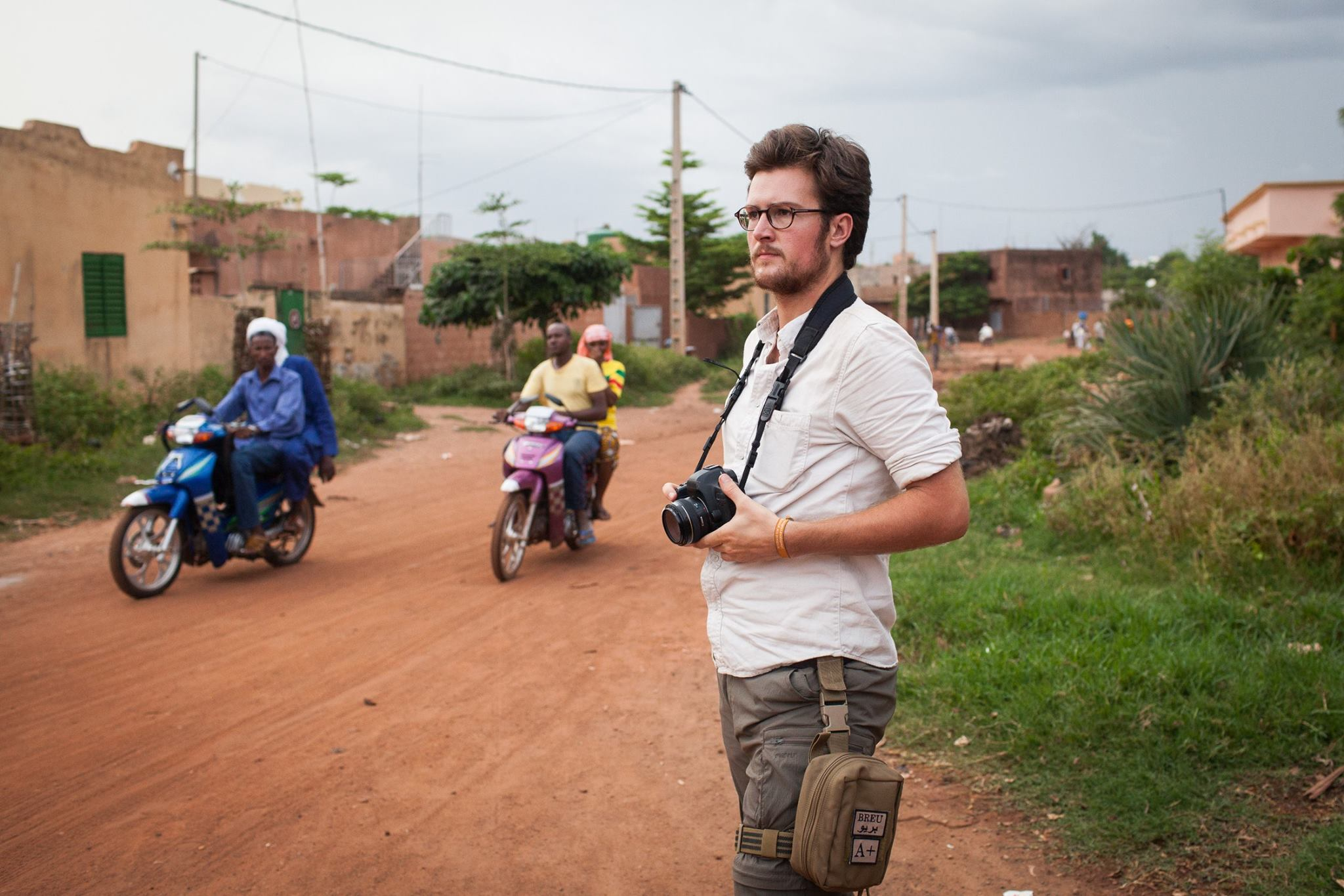 Working in Mali, 2014. Photo: Sebastian Weis