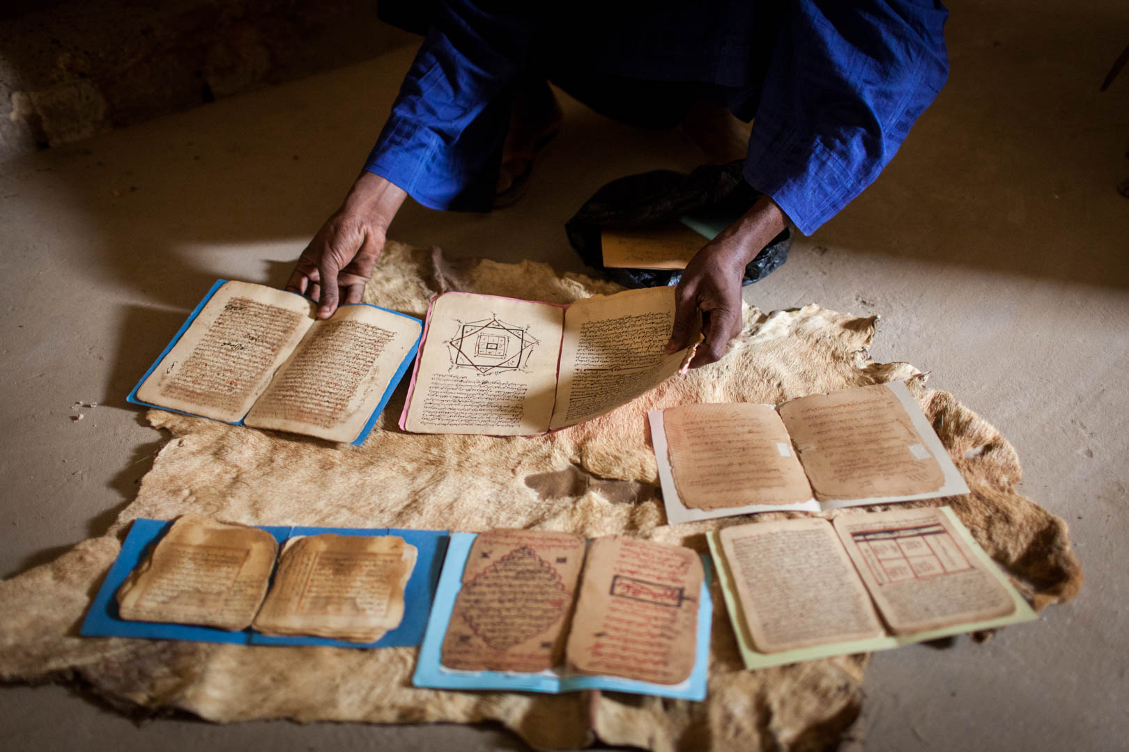 Timbuktu has dozens of small private libraries, some only being roughly a dozen pages of ancient manuscripts inherited from the great-grandfather.