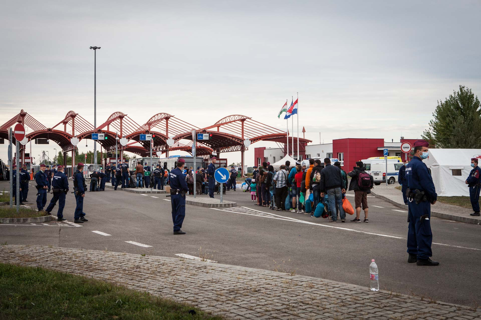 After Hungary closed its border to Serbia, it still allowed refugees coming from Croatia to cross to Austria in small numbers. These were the last people to legally set foot on Hungarian soil, before the conservative government of Orban shut down the country to refugees completely.