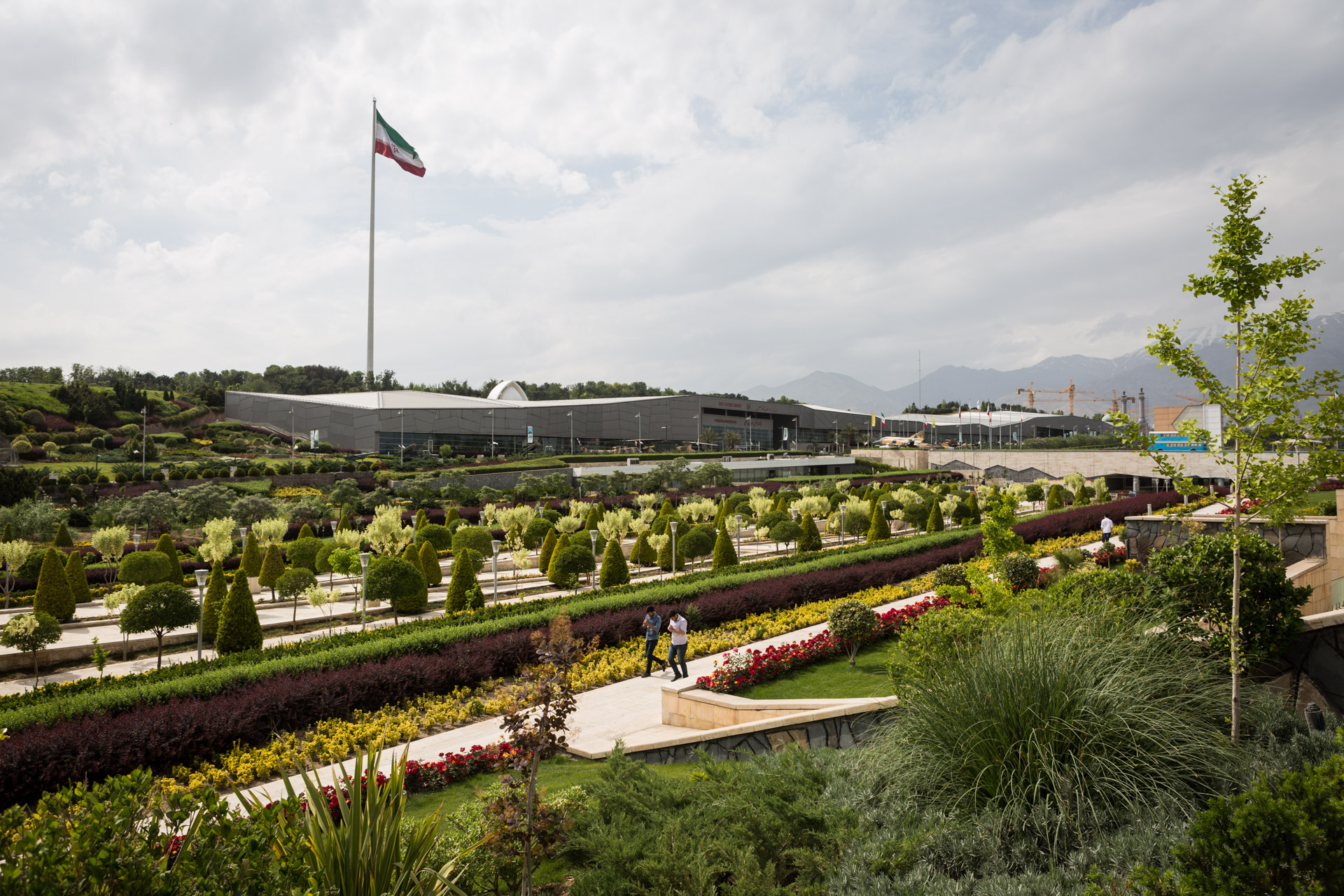 The museum grounds also features a public park, 21 hectare in size.