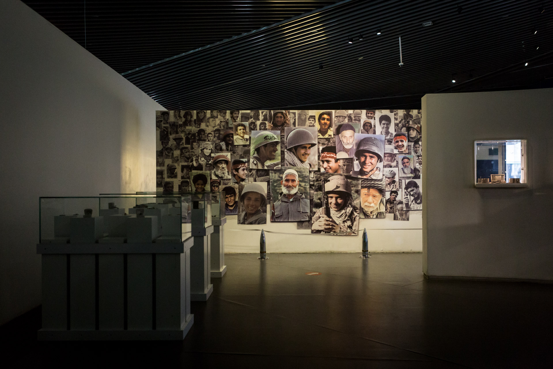 Designated for very old and very young participants of the war, a special room awaits visitors. According to museum information, Islam forbids to enlist young and old people in a war. If they are eager to participate though, one must not hold them back.